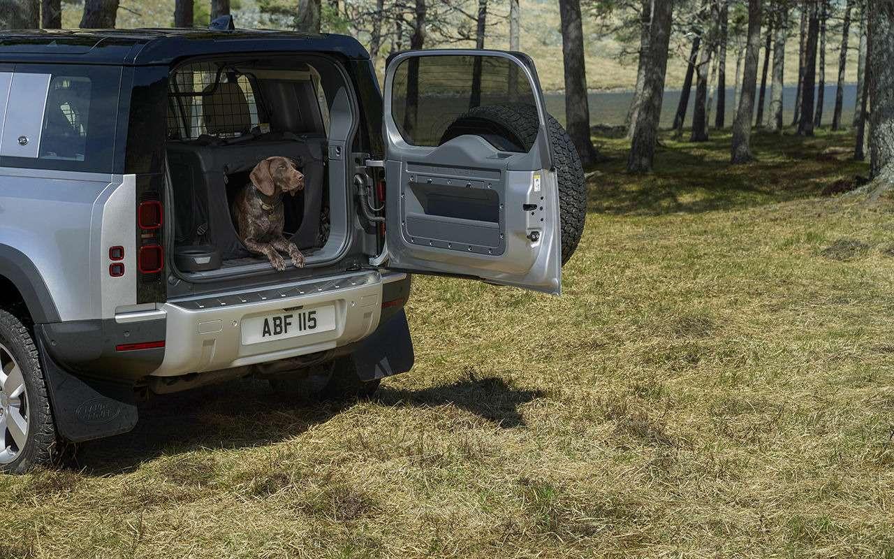 Jaguar Land Rover сконструировал лапу собаки— фото 1021644