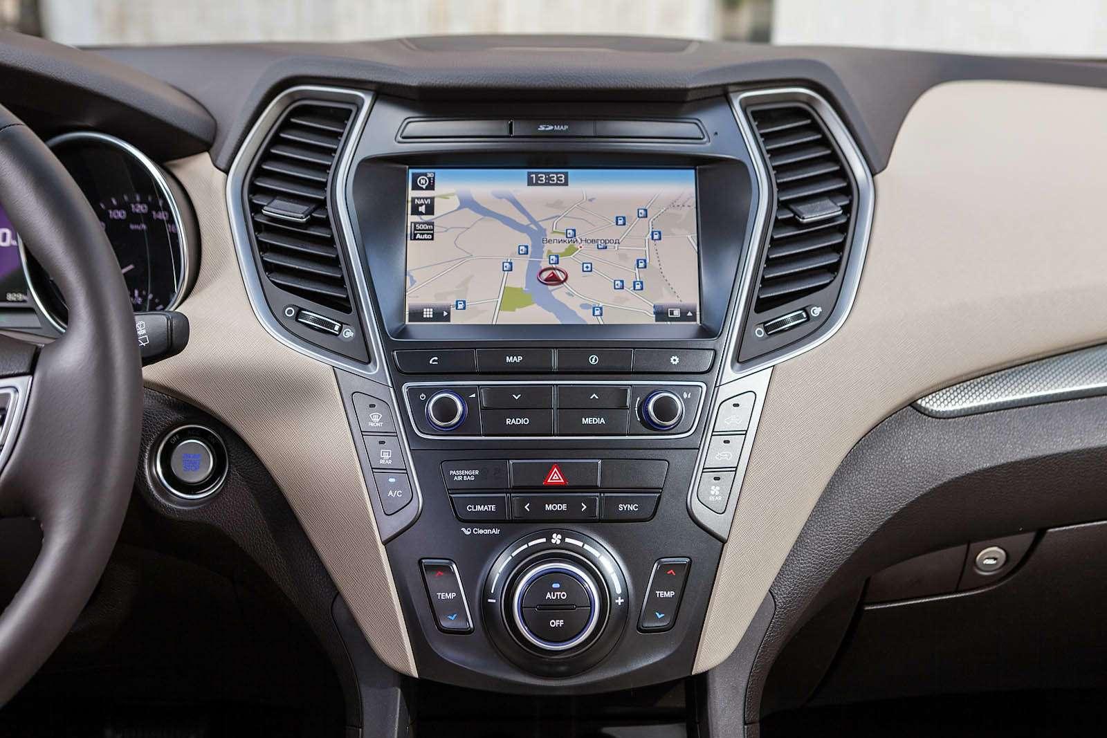 Обновленный Hyundai Grand Santa Fe: первый российский тест-драйв— фото 593792