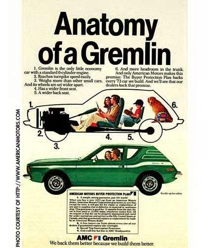 7 AMC Gremlin advertisement nocopyright