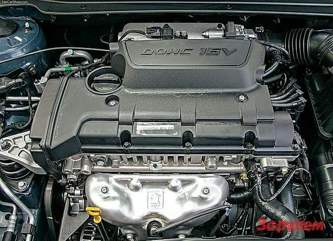 Двигатель объемом 2,0л встречается нечасто. Ремень привода ГРМ требует замены каждые 90тыс. кмпробега.