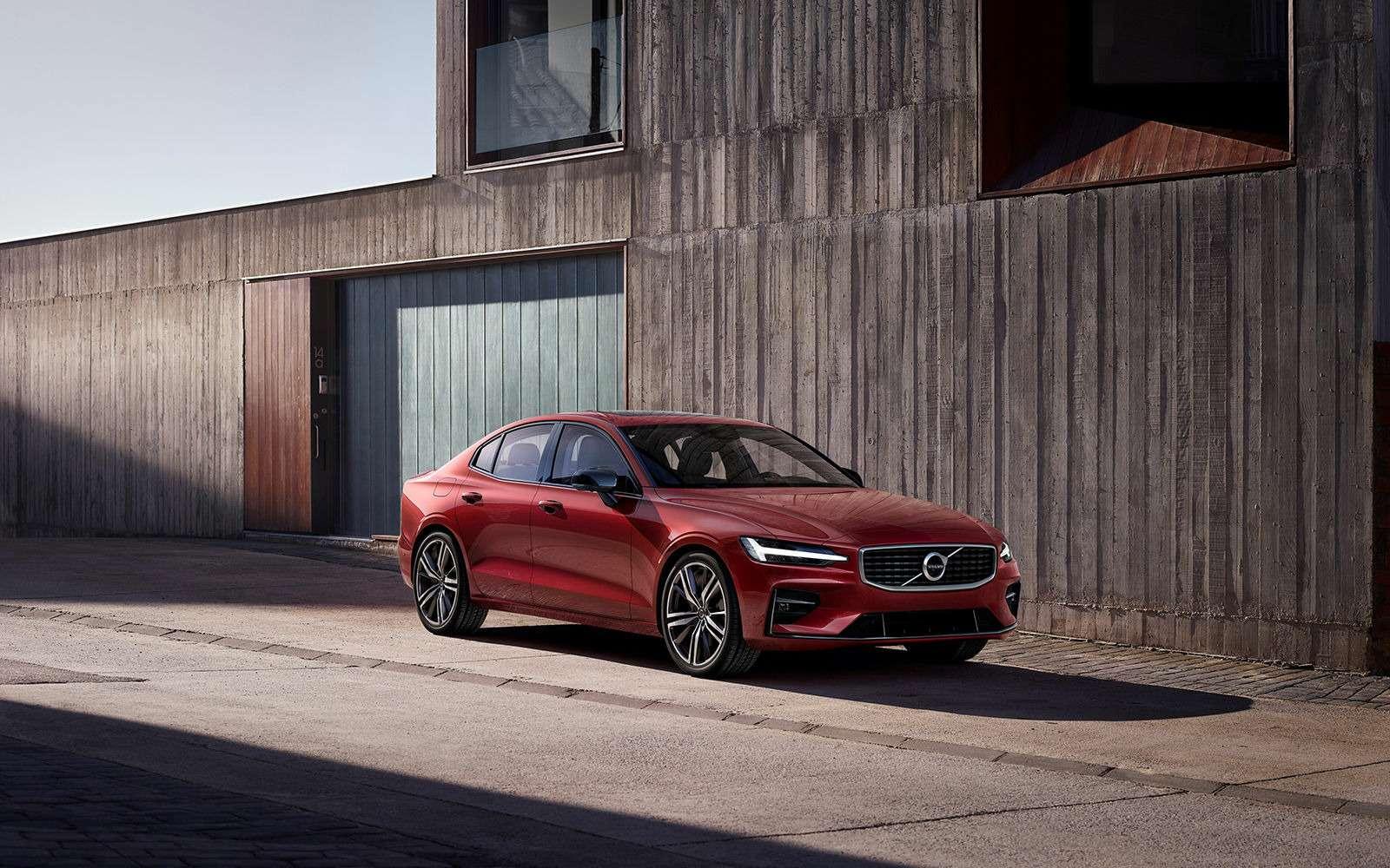 Новый Volvo S60: динамичный ироскошный. Ждем вРоссии!— фото 880609
