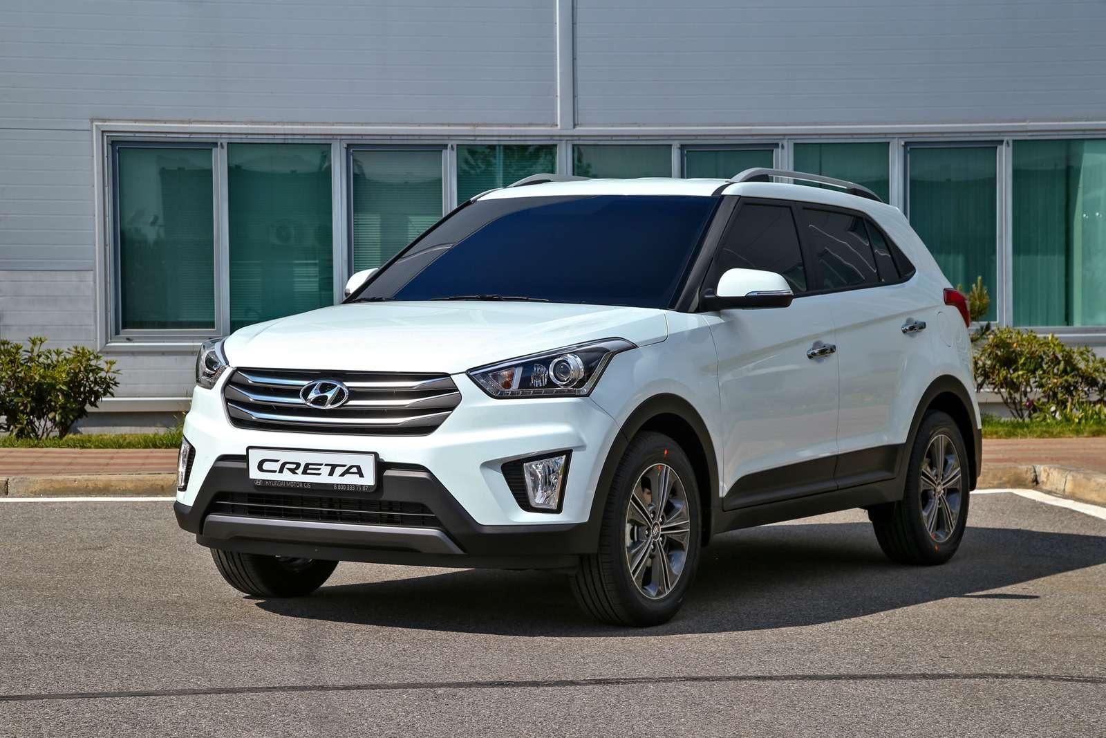 Новый кроссовер  Hyundai Creta— первая встреча— фото 603758