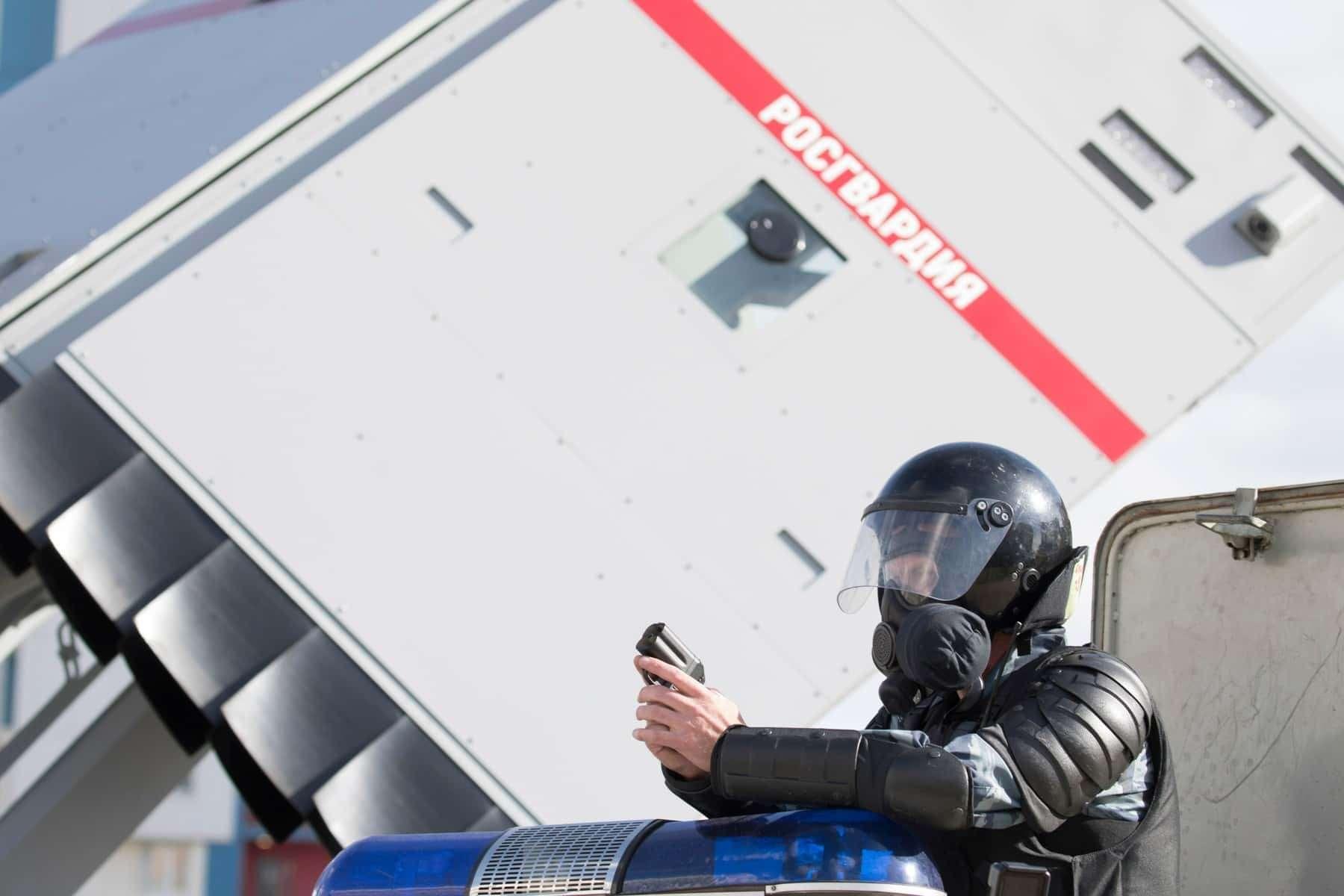 Комплекс «Стена»: Росгвардия получит новую технику дляразгона митингов— фото 906554