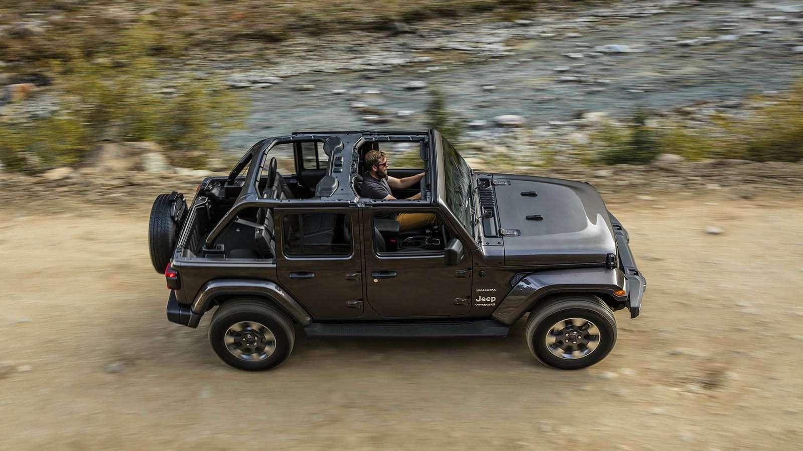 Новый Jeep Wrangler: найди десять отличий— фото 821243
