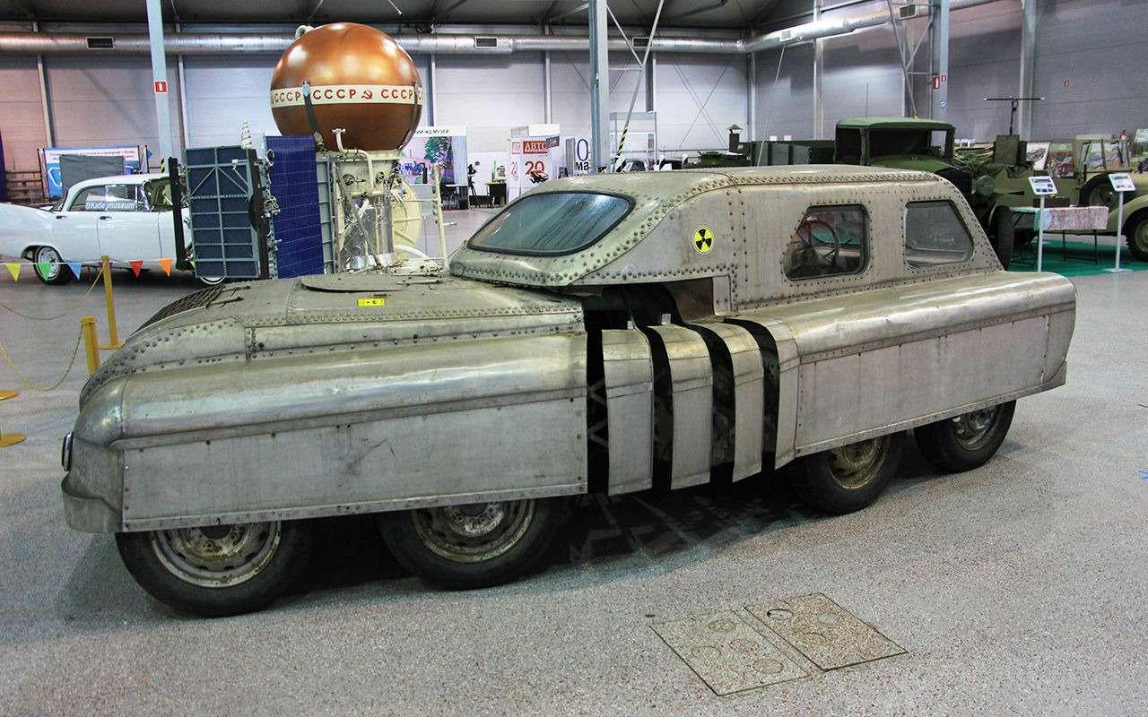 ОтМосквича доFerrari: самые крутые ретрокары олдтаймер-галереи— фото 956590