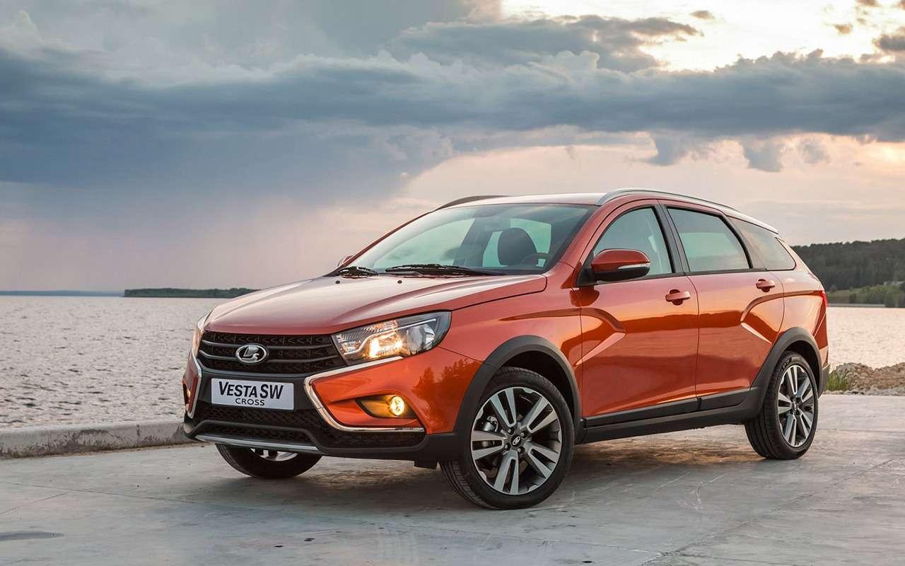 Лада Веста SWCross или Hyundai Creta: все «за» и«против»— фото 906715
