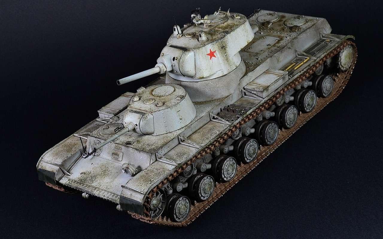 Экспериментальный советский танк: финны свинтили крышку люка— фото 1089023