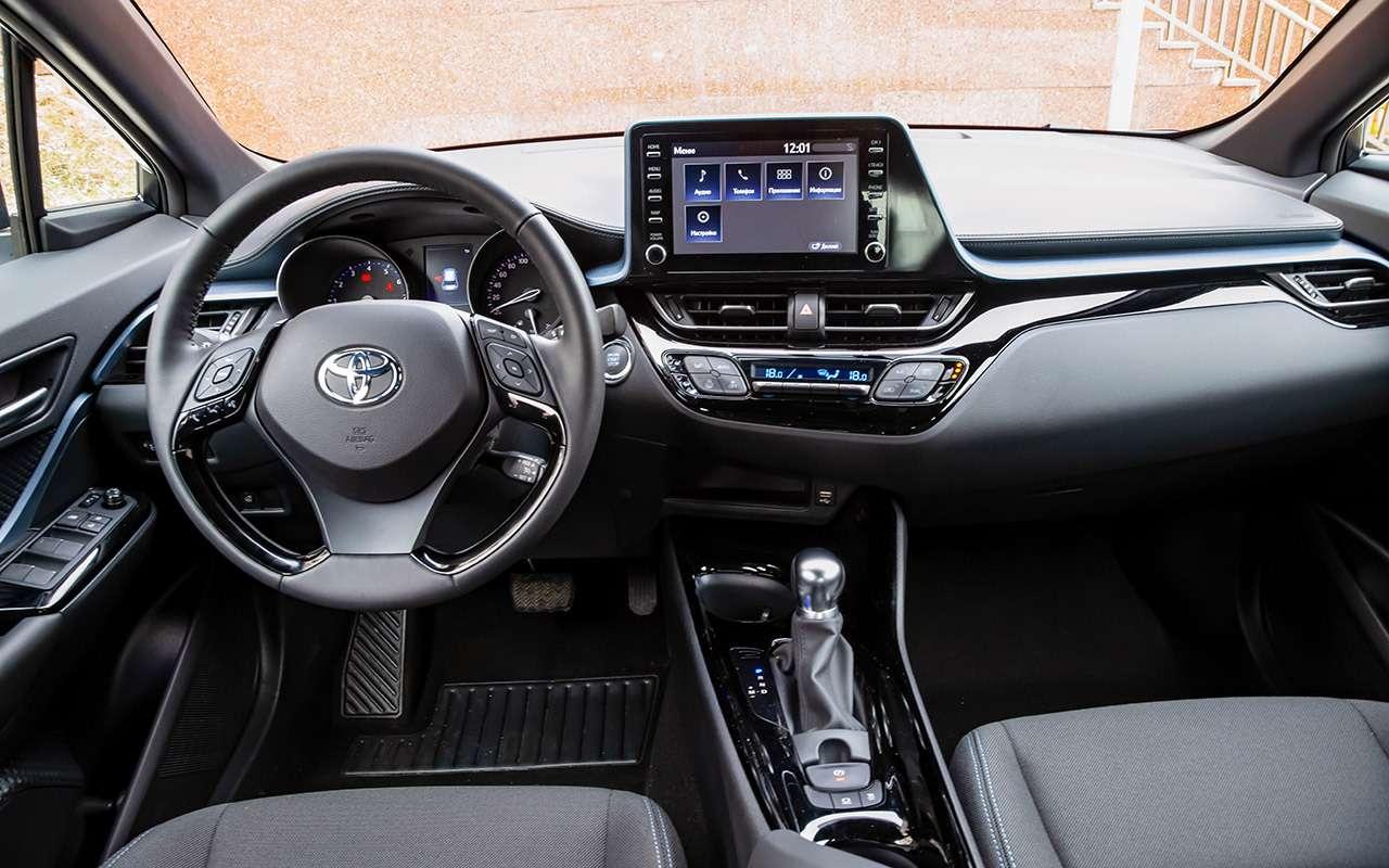 Обновленный Toyota C‑HR: все вопросы— ккомплектациям!— фото 1121383