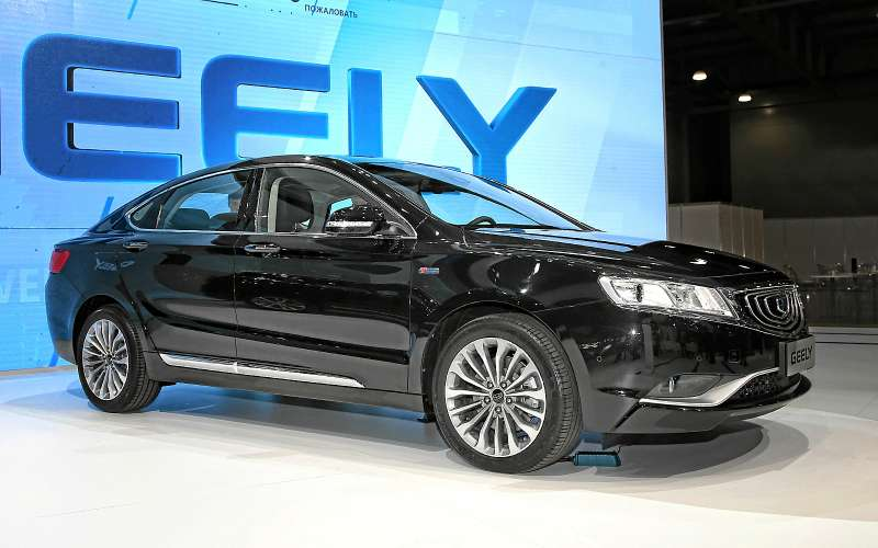 Седан Geely Emgrand GT