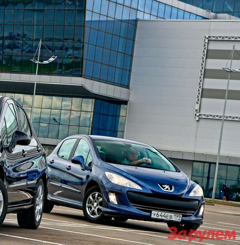 Peugeot 308 2008 года