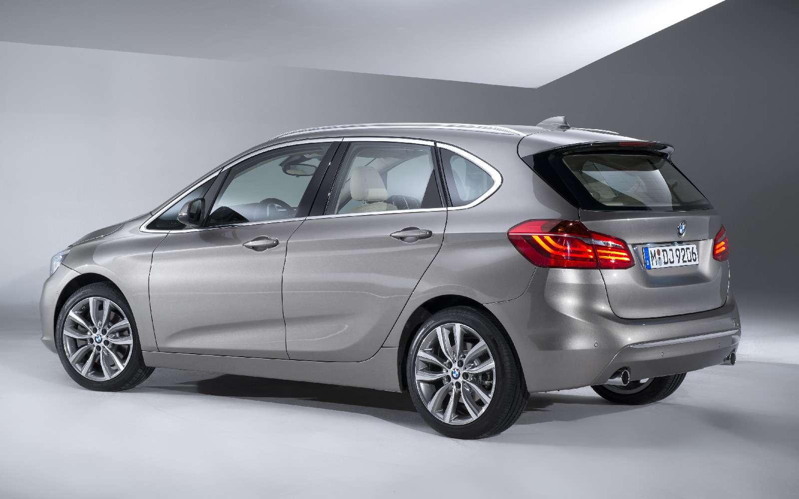BMW2-й серии Active Tourer: объявлены рублевые цены— фото 722798