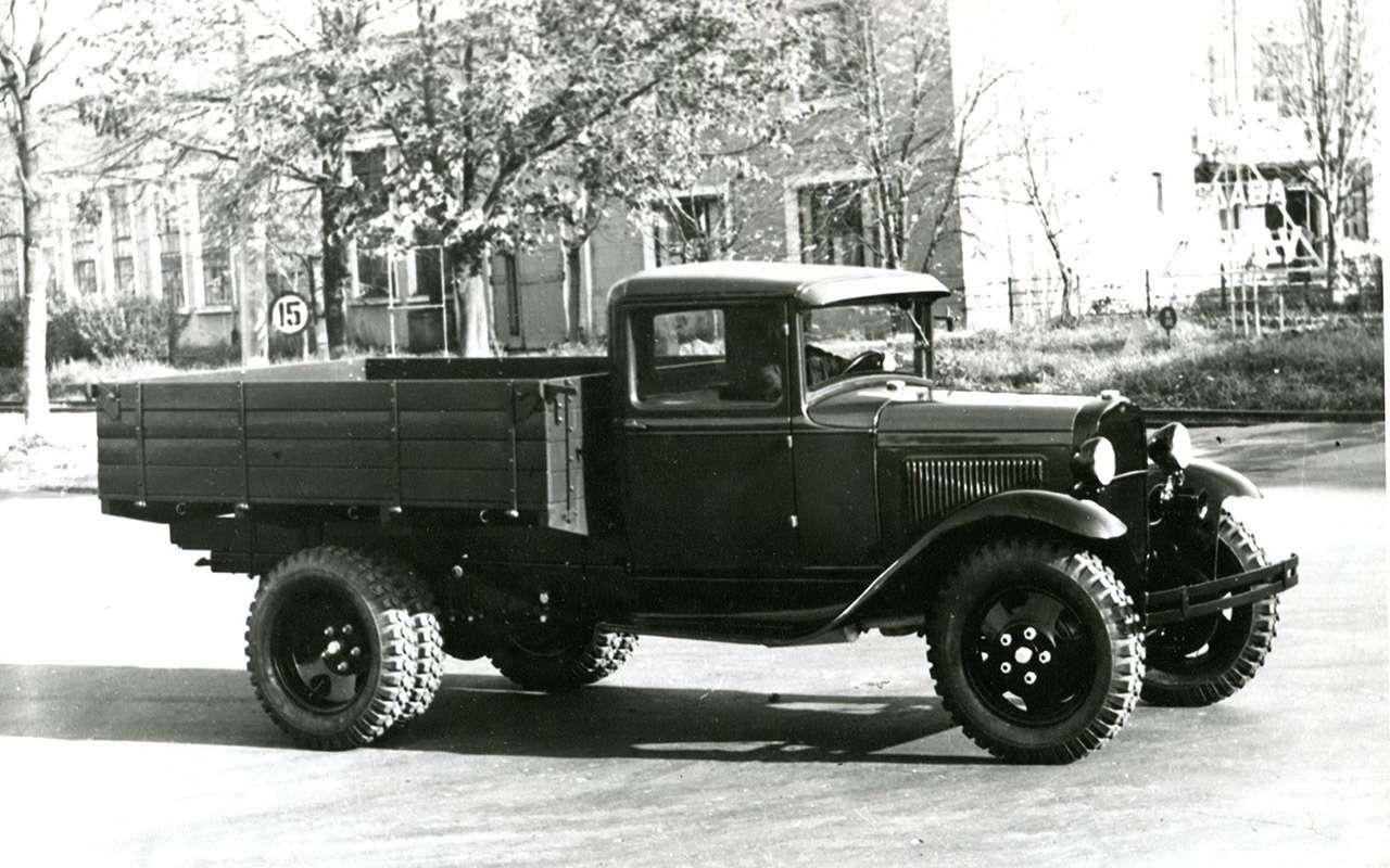 Мотор V12с автоматом— были итакие грузовики вСССР!— фото 1033948