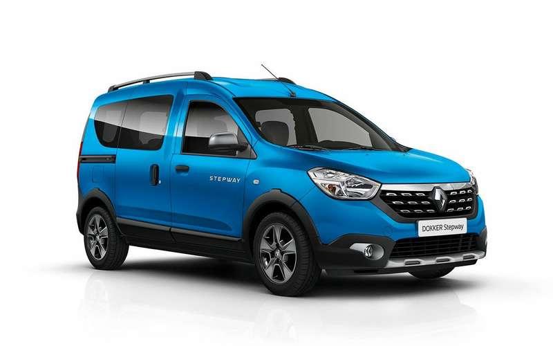 Renault начала продажу внедорожной версии Dokker