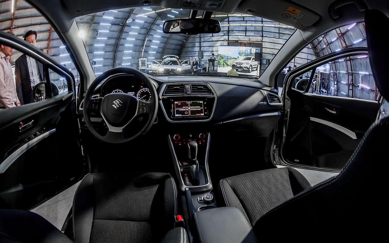 Suzuki озвучила цену нановую версию SX4 Tabi— фото 978707