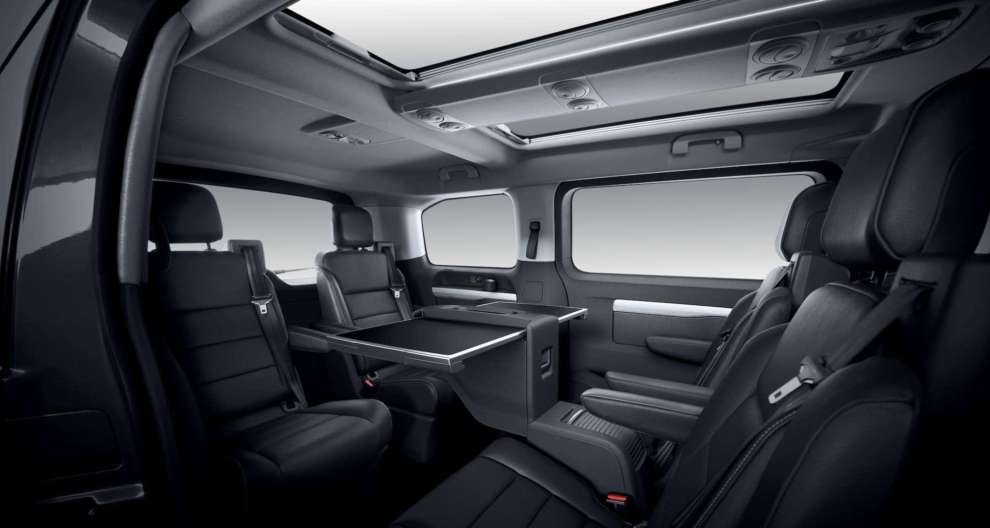 Peugeot Traveller VIP Business: сообразим насемерых?— фото 905202