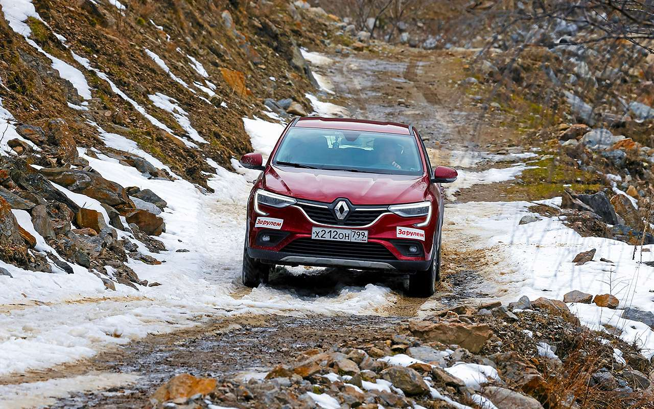 Renault Arkana стурбо ивариатором: реально жесткий тест— фото 1244655