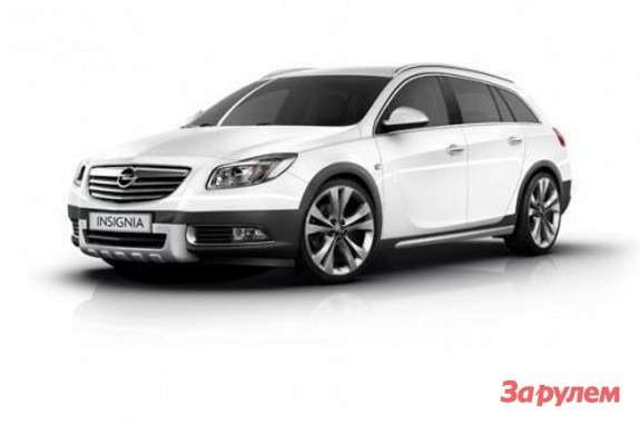 Opel Insignia Sports Tourer CrosFour side-front view