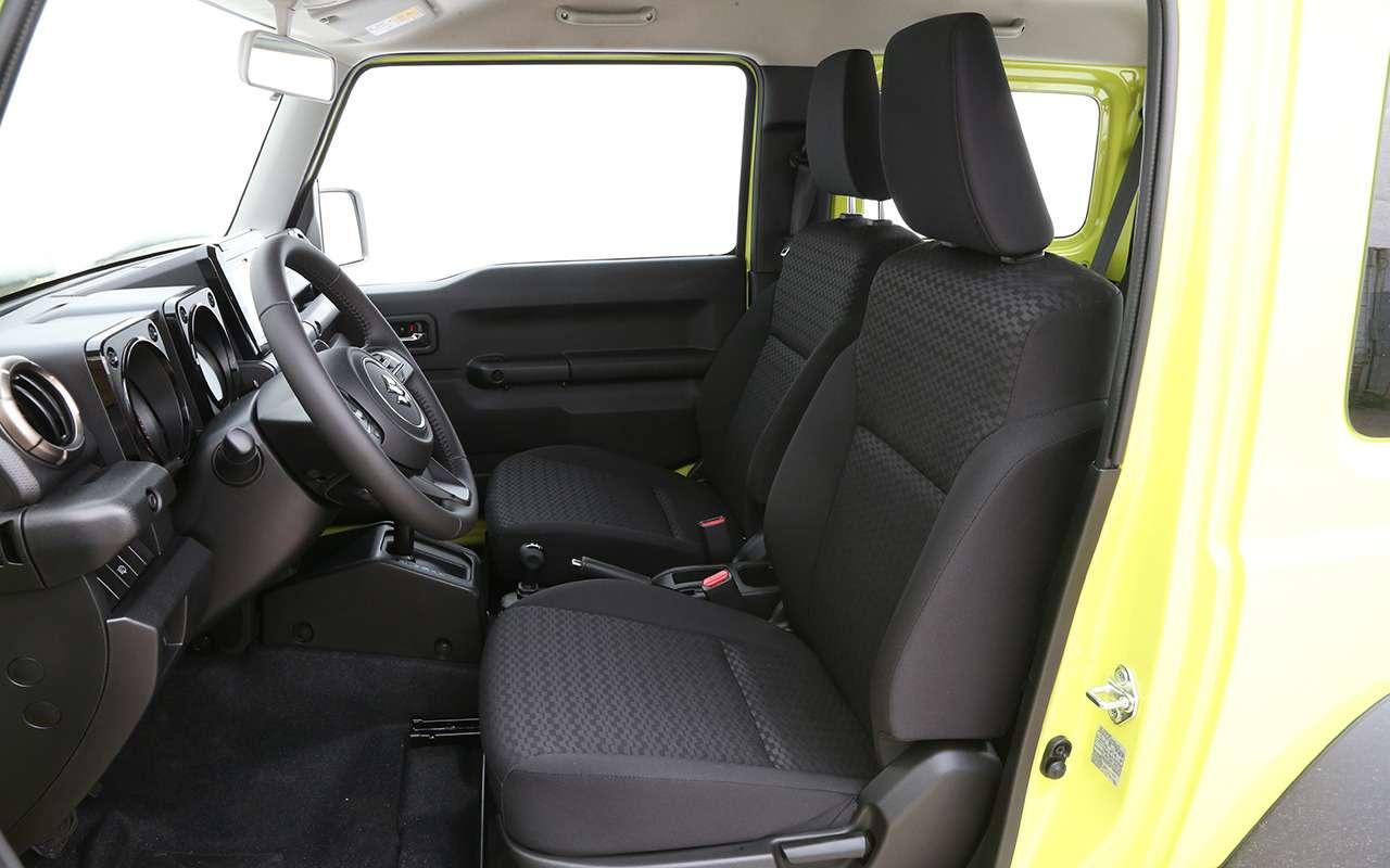 Новый Suzuki Jimny— тест вовсех подробностях— фото 993048