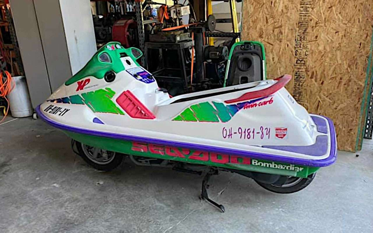Сухопутный гидроцикл— самый странный Suzuki— фото 1158622