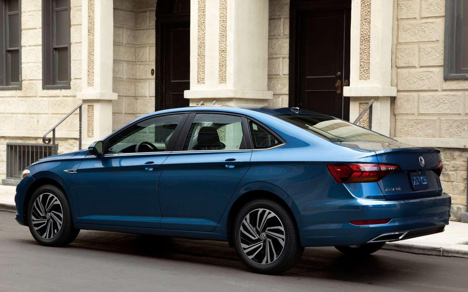 Новый Volkswagen Jetta: один мотор ичетыре комплектации— фото 835842