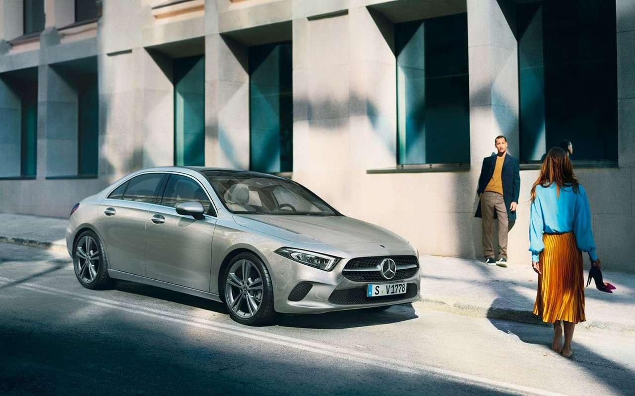 Дамский угодник: женский взгляд нановый Mercedes-Benz А200— фото 994956