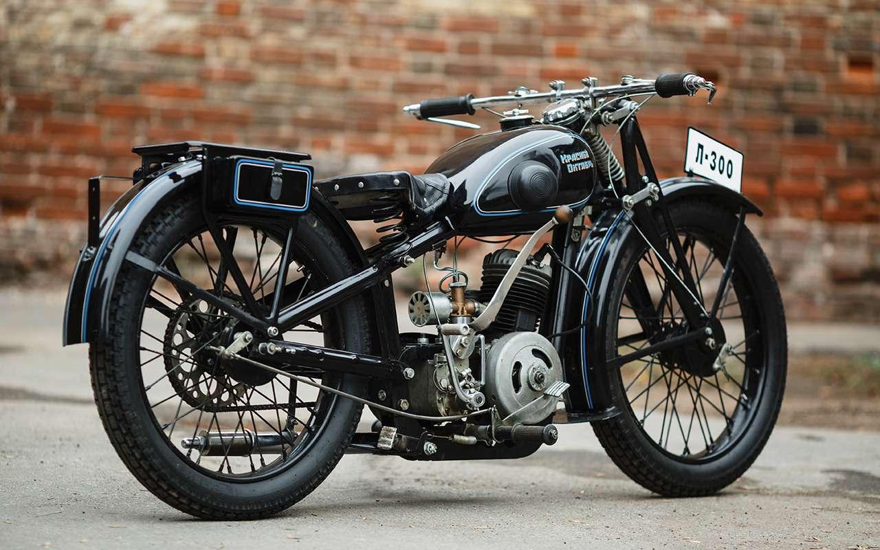 Первый серийный советский мотоцикл: история одной копии— фото 908496
