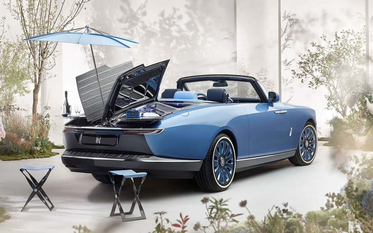 Rolls-Royce создал самое изысканное место дляпикника наЗемле— фото 1249785