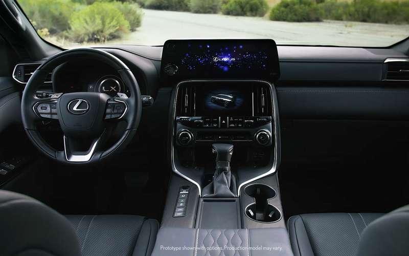 Lexus представляет новый LX 600