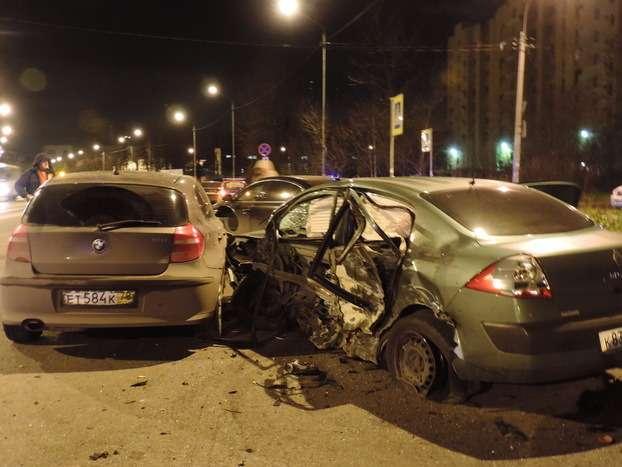 Пьяный ОМОНовец устроил смертельное ДТП вСанкт-Петербурге