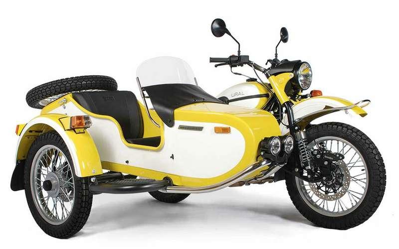 Новый мотоцикл Урал— специально длявыходных