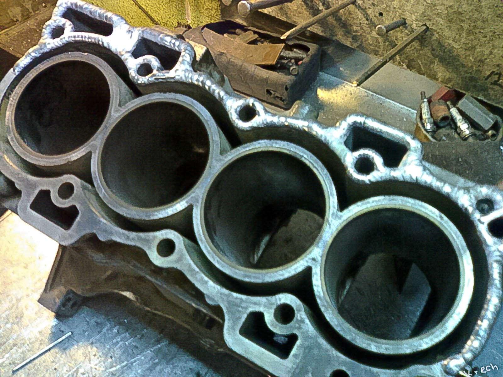 Каквосстанавливают двигатели спомощью сварки— фото 613417