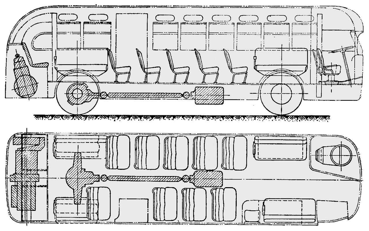 Советский гибридный автобус: заглянули вего родословную— фото 1232028