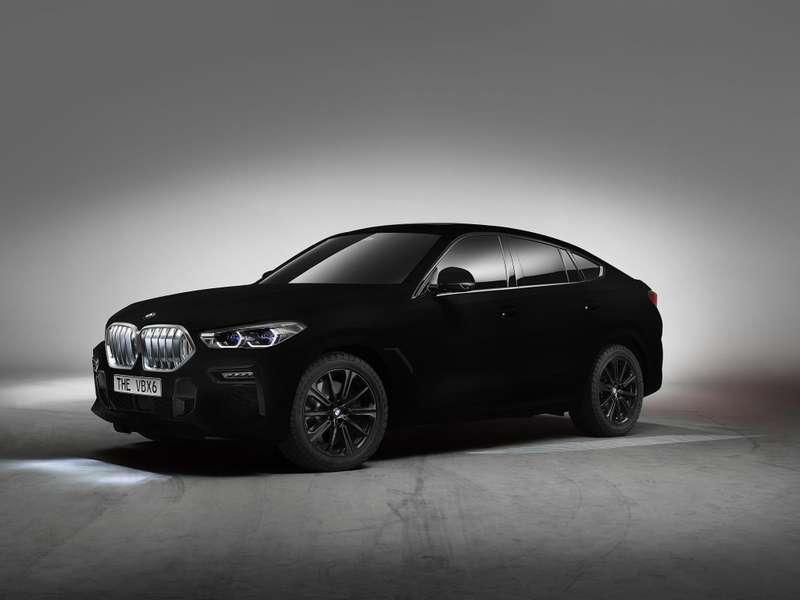 Сделан самый черный автомобиль вмире