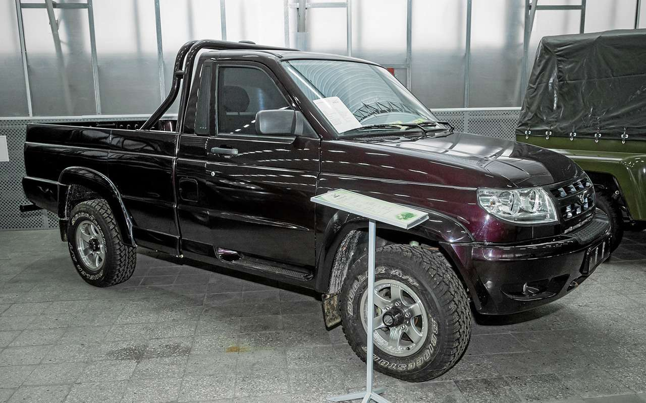 3 версии УАЗа Патриот, которые никто невидел— фото 1272125