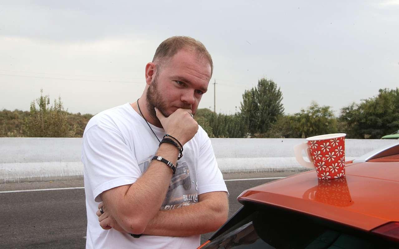 Автопробег «Зарулем», день 6-й: минус красивые диски наобеих Вестах— фото 906945