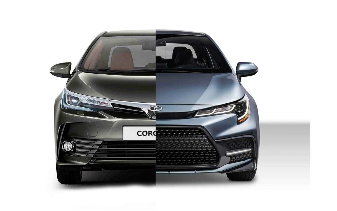 Новая Toyota Corolla: ищем отличия отпредшественницы— фото 924474