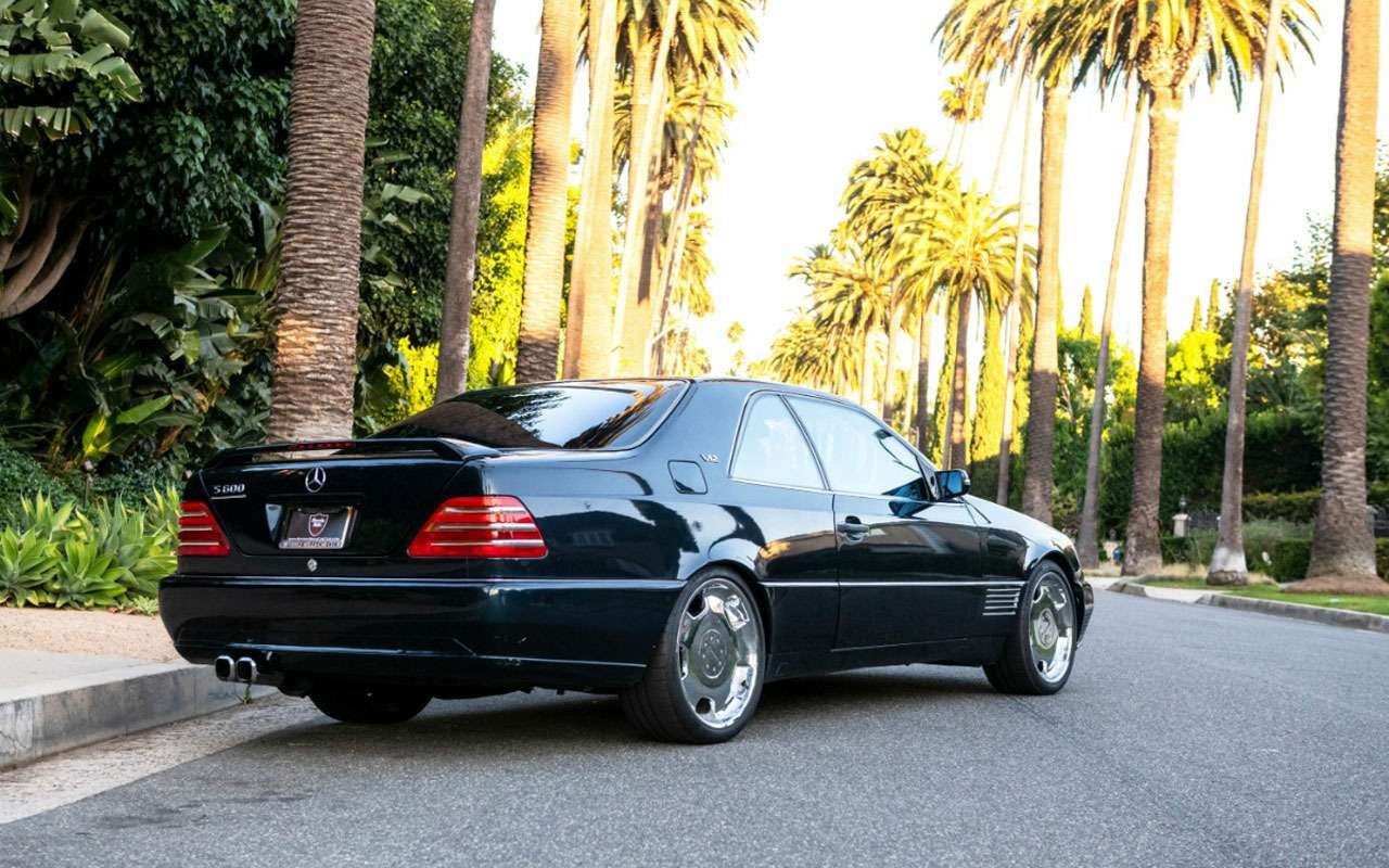 Продается любимый Mercedes Майкла Джордана— фото 1158210