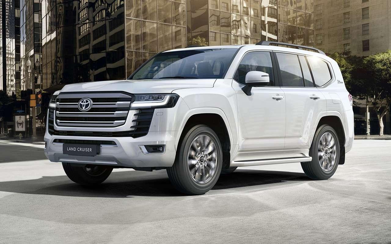 10 фишек нового Toyota Land Cruiser