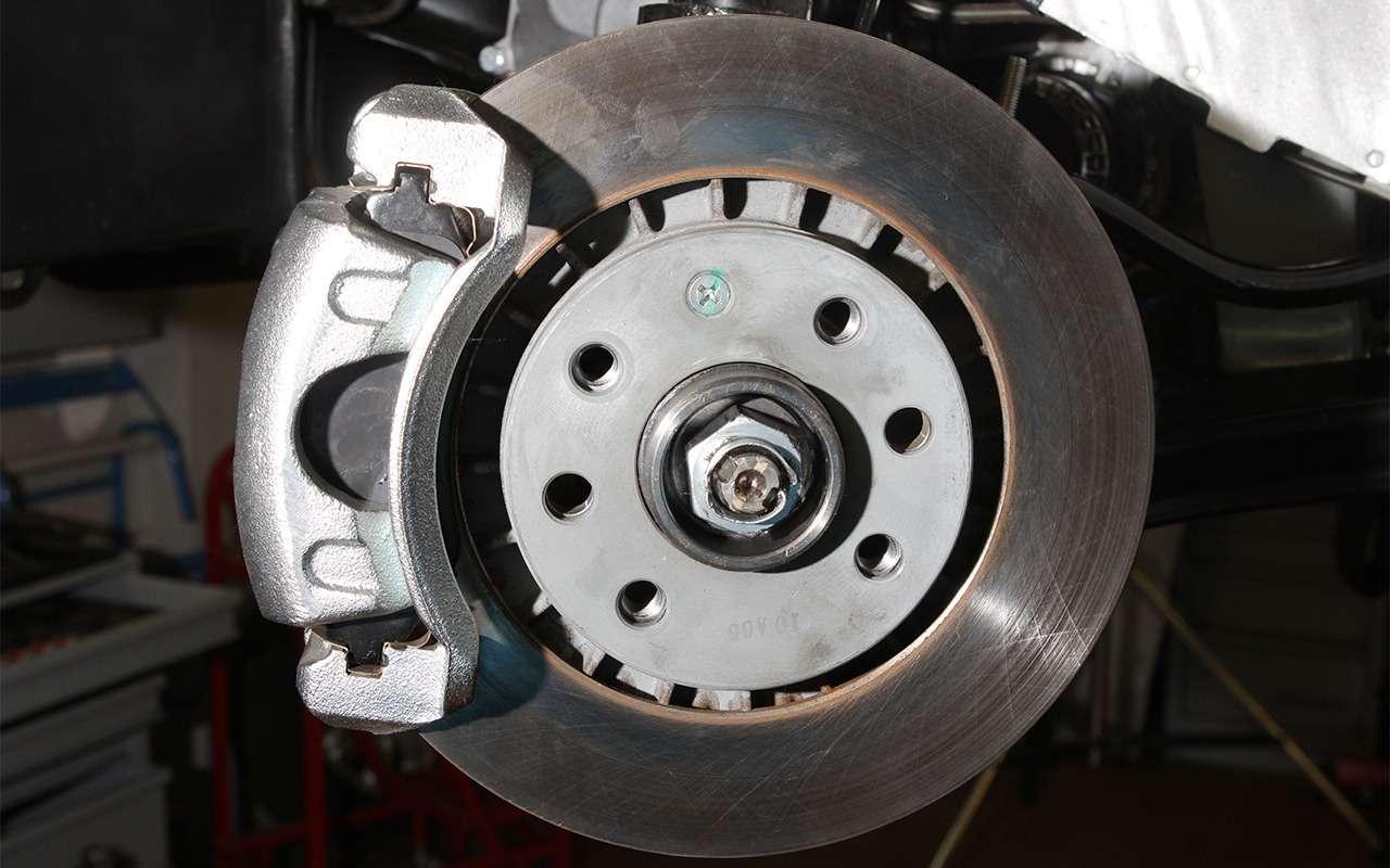 Какие тормоза лучше: барабанные или дисковые?— фото 841470