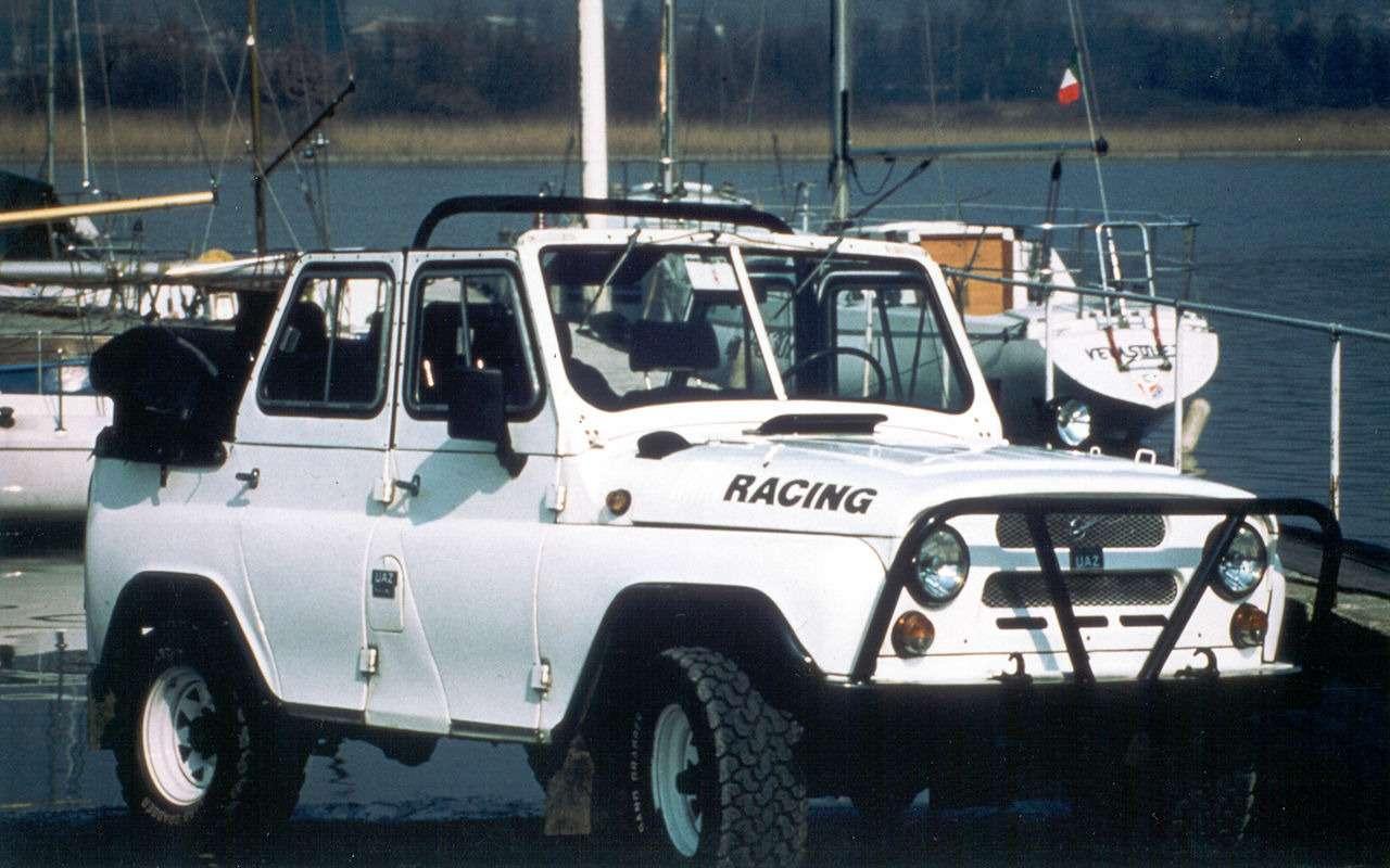 «Козлик» УАЗ-469— таких модификаций выточно невидели!— фото 978723