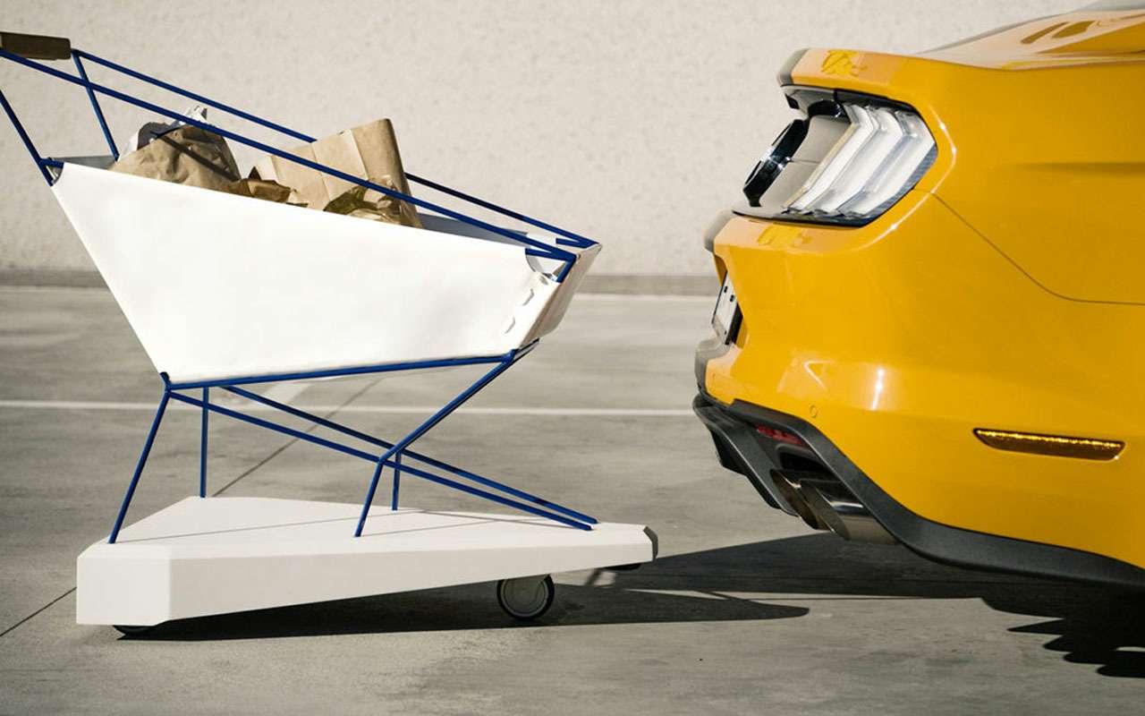 Форд заехал всупермаркеты: теперь онизобретает тележки!— фото 969734