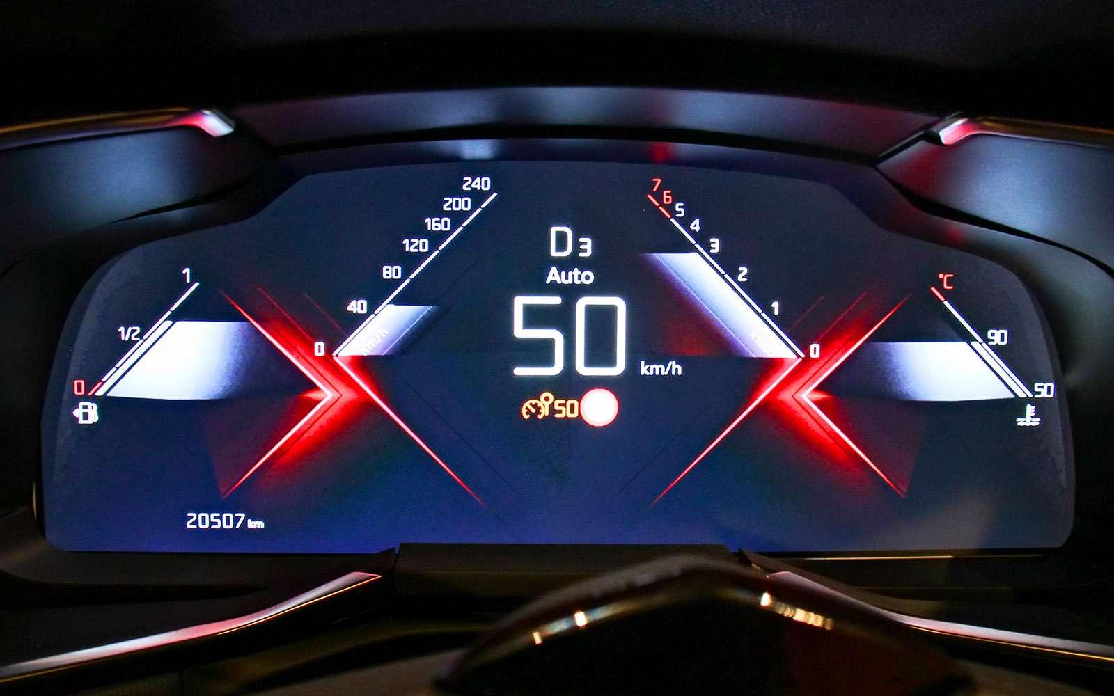Новый кроссовер DS7Crossback: французская «семерка»— фото 738709