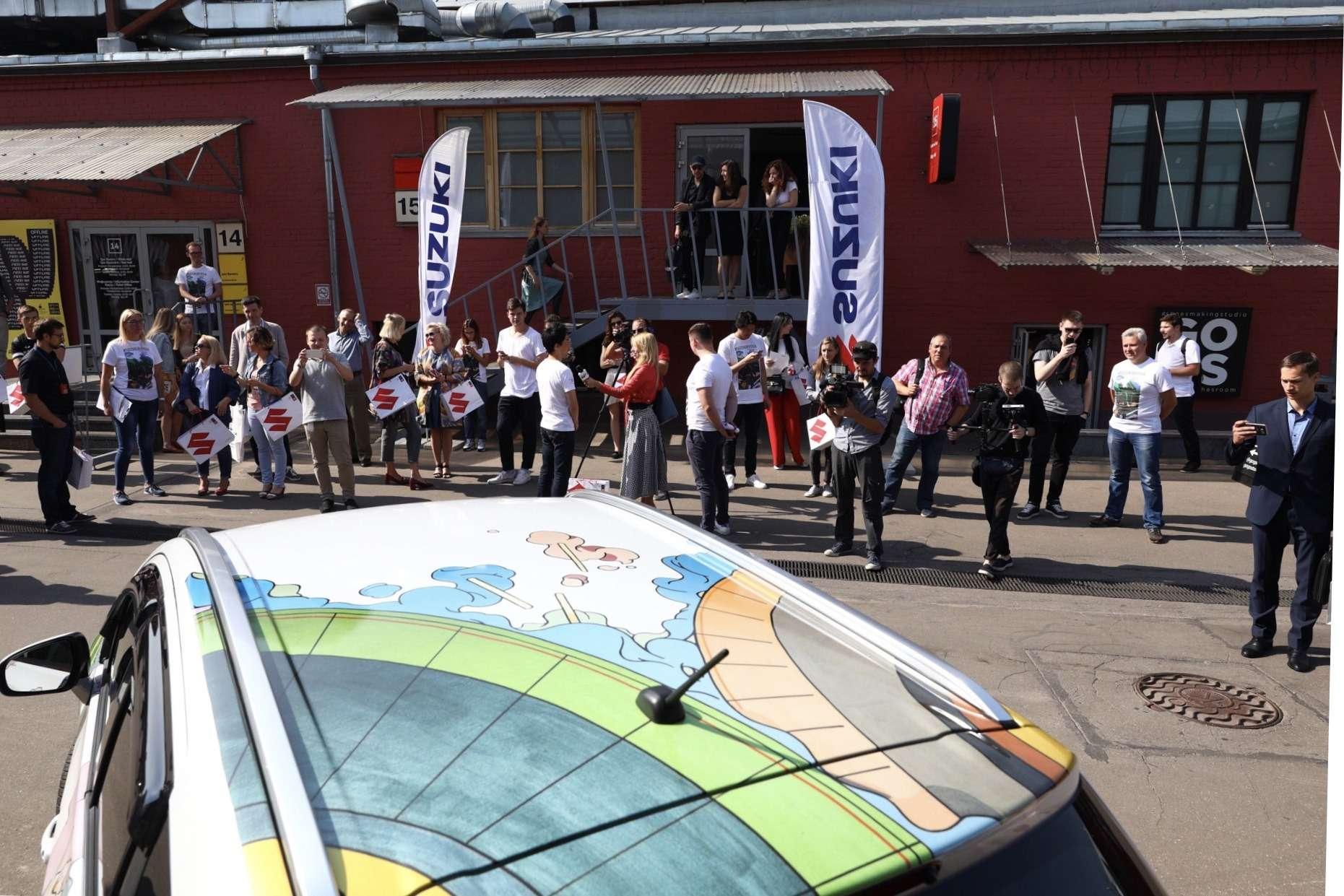 В России представили эксклюзивную Suzuki SX4— фото 903760