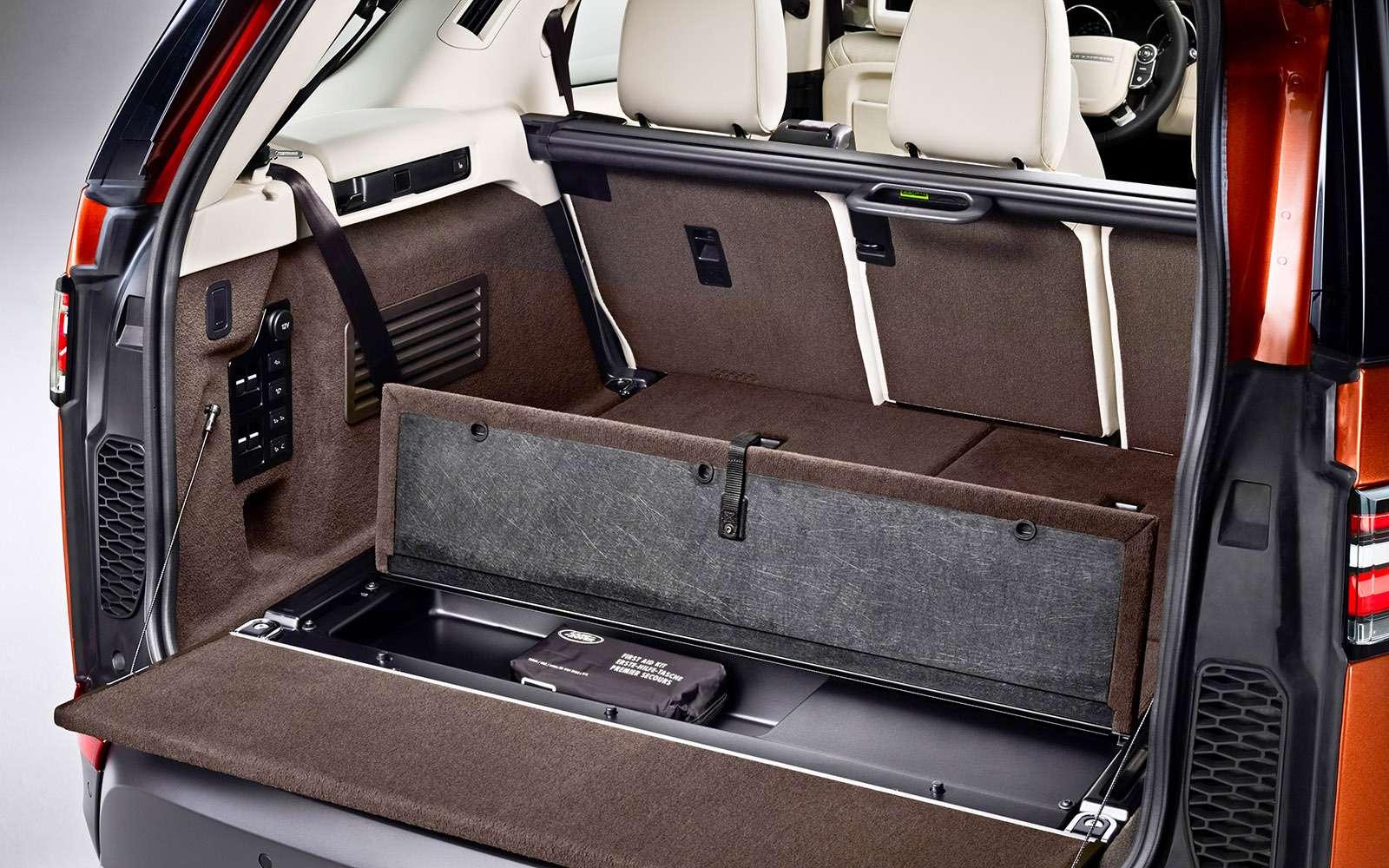 Land Rover Discovery V: бессонница диетолога— фото 707770