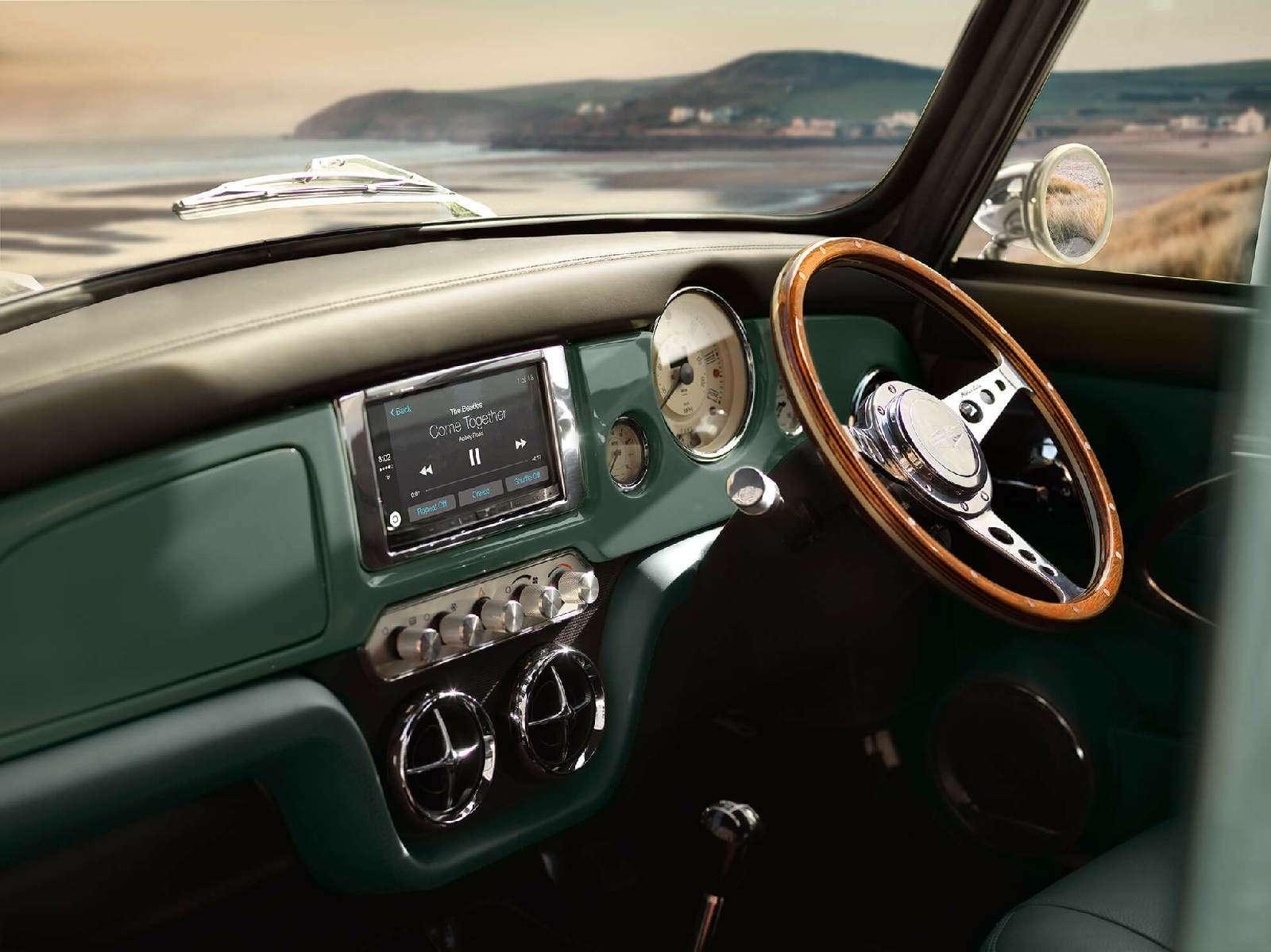 Инверсивный подход: дебютировал Mini Remastered поцене Porsche— фото 733514