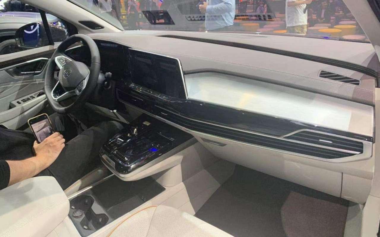Volkswagen представил гигантский кроссовер Talagon— фото 1241313