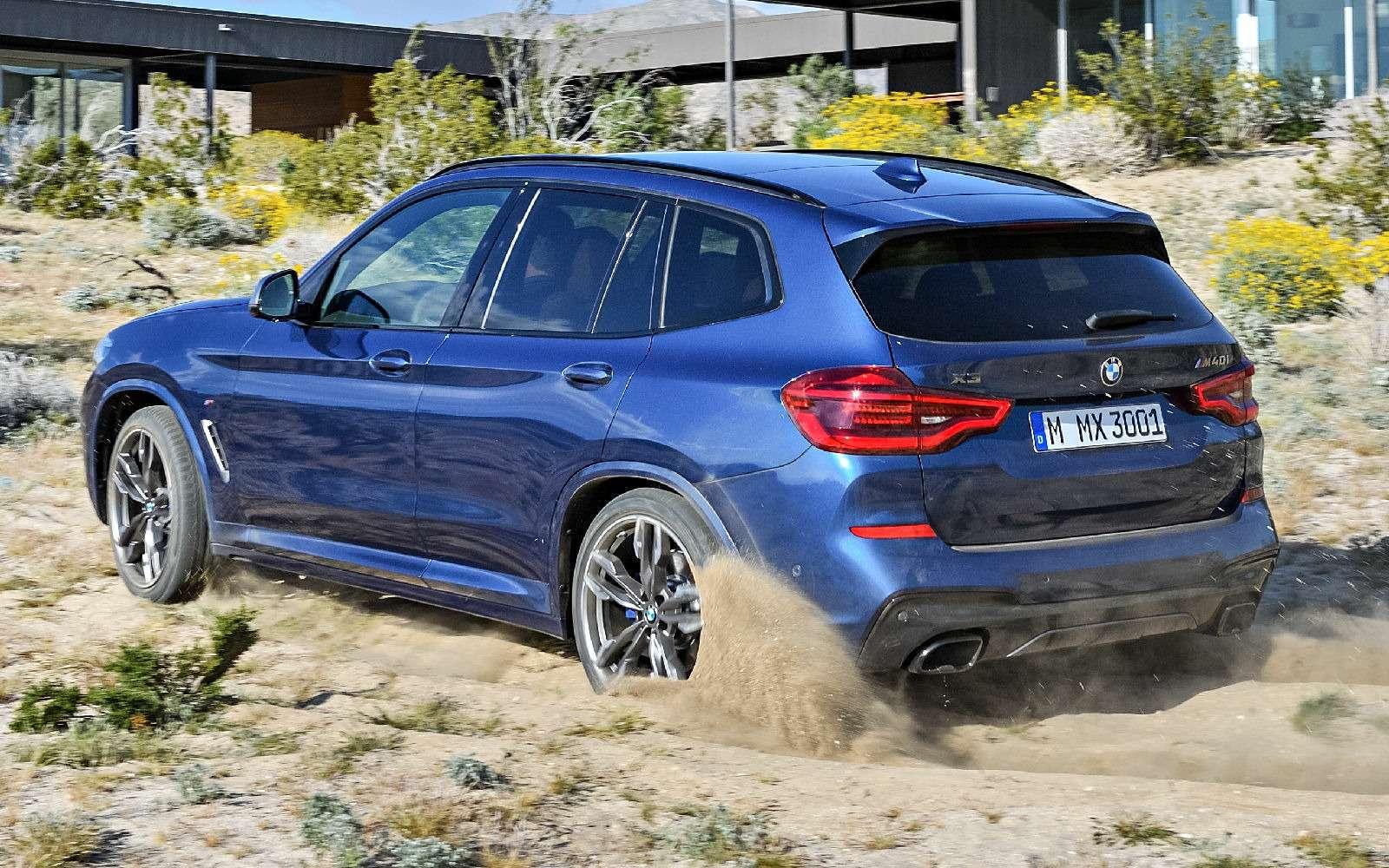 Новый BMW X3оказался крупнее старого Х5— фото 768544