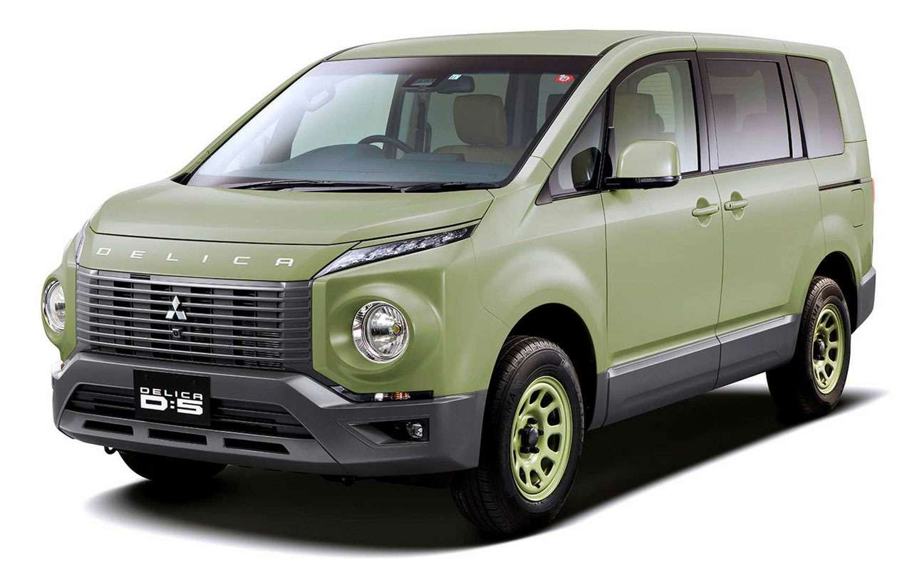 Премьера возрожденной Mitsubishi Delica: через две недели — фото 1041910