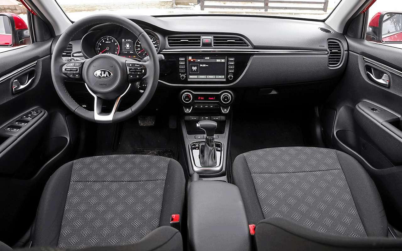 KiaRio X-Line или Renault Kaptur: что выгоднее купить?— фото 982207