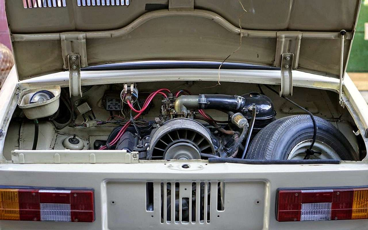 Двигатель ЗАЗ-968М